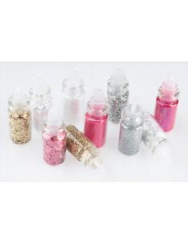 Nail Glitter Dust Kit